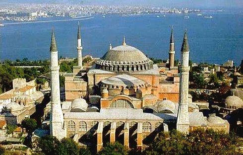 Hagia Sofia Cathedral, Istanbul, Turkey