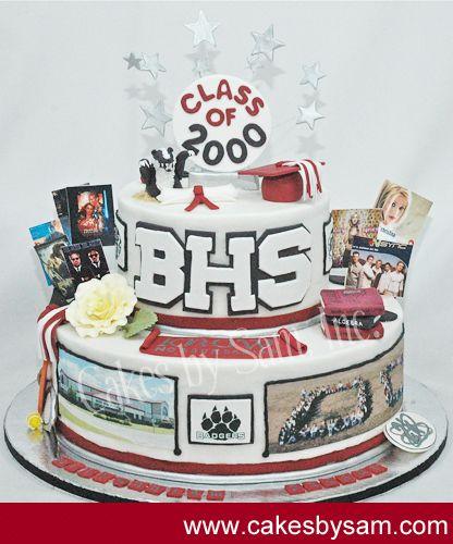 Cake Design For Class Reunion : Reunion Cake MHS reunion Pinterest