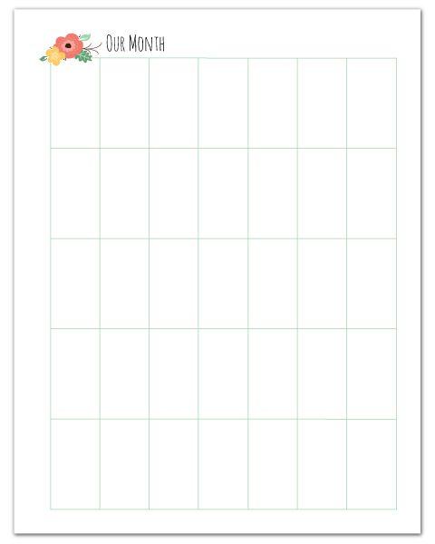 70 best Free Printable Calendars images on Pinterest | Printable ...