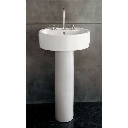 Bowman Ave - Chipperfield pedestal sink by Porcher - 20