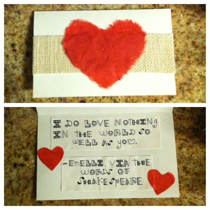 valentine's day card verses for him