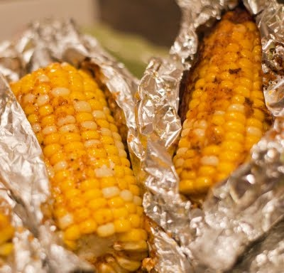 TasteBuds: Parmesan Roasted Corn on the Cob