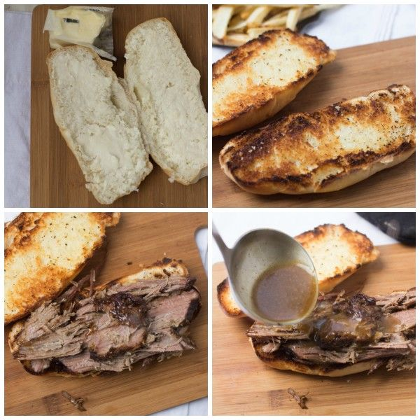 Pot Roast Sandwich - We like to add Provolone Cheese and we buy a ...