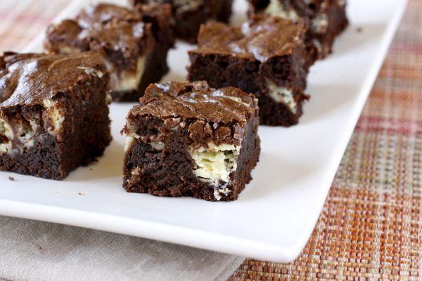 Cream Cheese Brownies | Food | Pinterest
