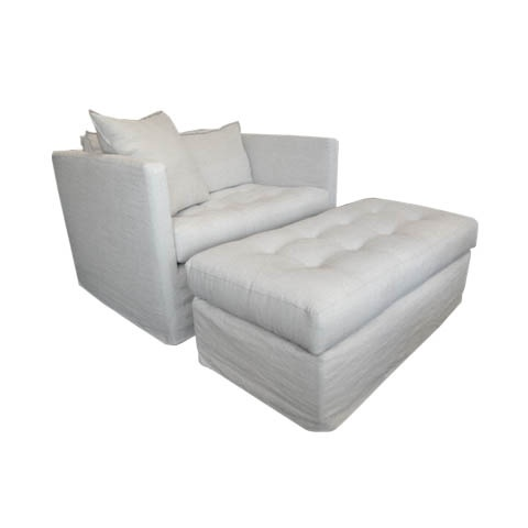 Homenature laguna chair and a half slipcover my microfiber version
