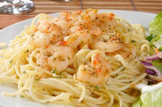 Shrimp Scampi Bake | Dinner Ideas | Pinterest