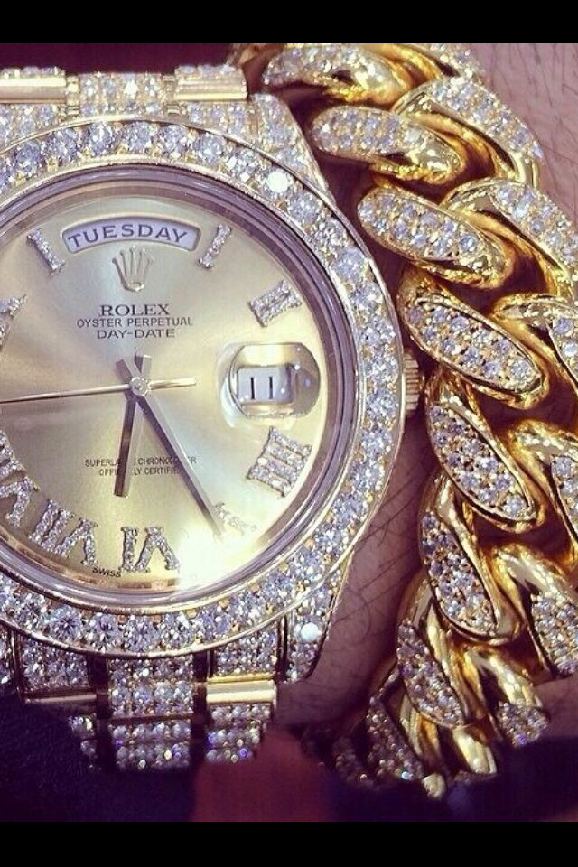 gold rolex timepieces