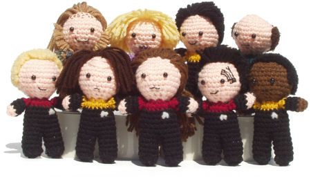Amigurumi Star Trek : Star Trek amigurumi :) Wild and cute crochet Pinterest