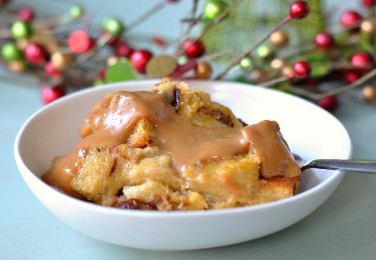 bread pudding with dulce de leche topping dulce de leche and chocolate ...