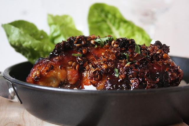 HONEY SPICED ROAST CHICKEN | Food and beverage | Pinterest