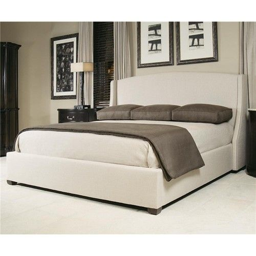 Upholstered Wing Bed By Bernhardt Baers Furniture Upholstered Bed