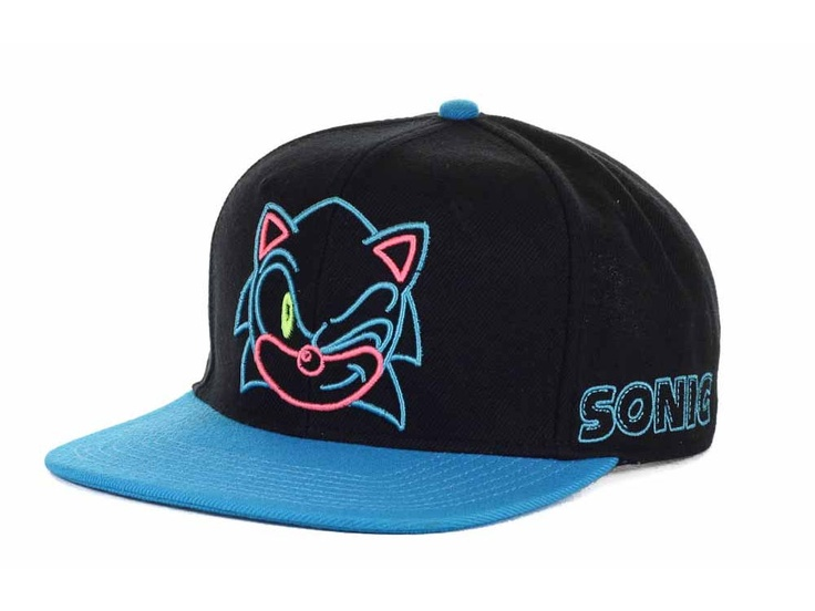 bio domes sonic neon snapback cap hats at lids cool