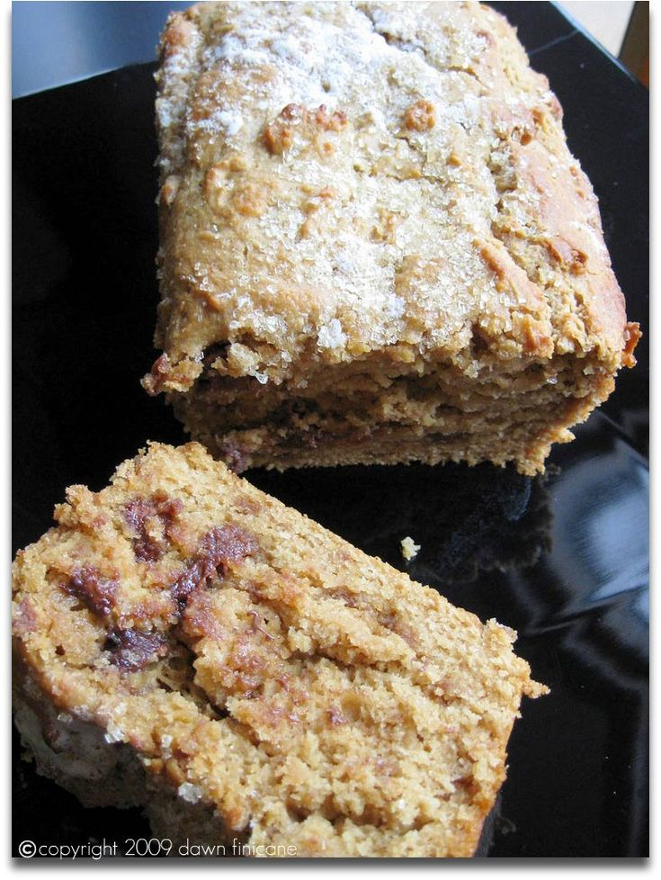 Chocolate peanut butter BREAD. So, it this dessert or the main meal ...