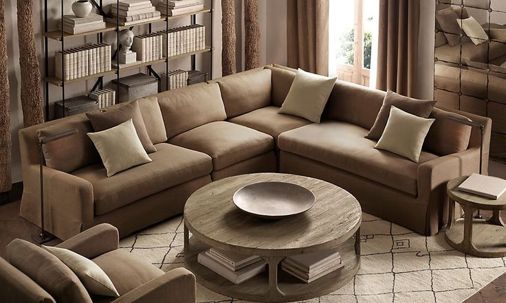 round coffee table living room pinterest