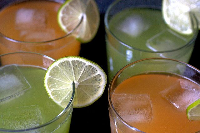 Melon Agua Fresca, via Smitten Kitchen. I make it EVERY summer, either ...
