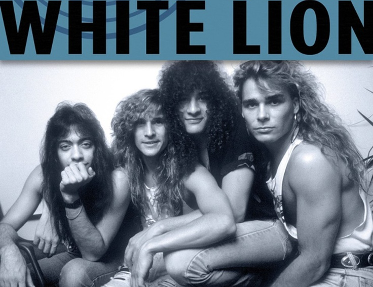 band white lion my favorite 80s bands pinterest