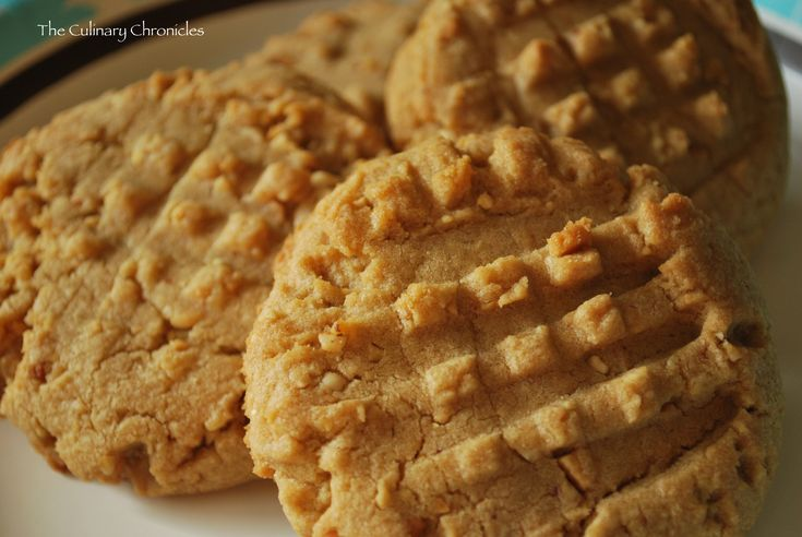 Big, Super-Nutty Peanut Butter Cookies | cookies | Pinterest