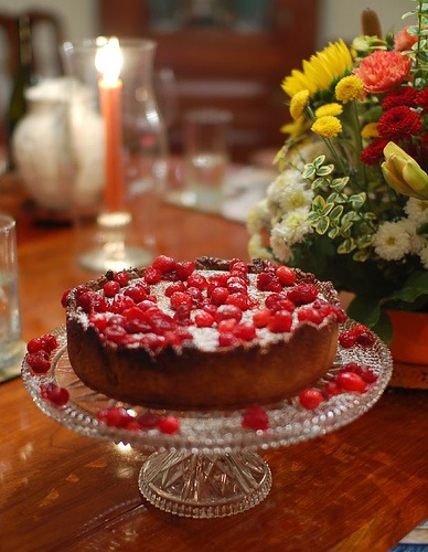 Dessert: Martha Stewart's Cranberry, Almond, and Cinnamon Tart. Recipe ...
