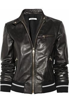 Bally | Leather jacket | NET-A-PORTER.COM - StyleSays