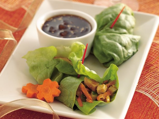 Lettuce Wraps  Havent made these yet so I'm not sure if they are anywhere near as good as PFChangs. But...we shall see :)