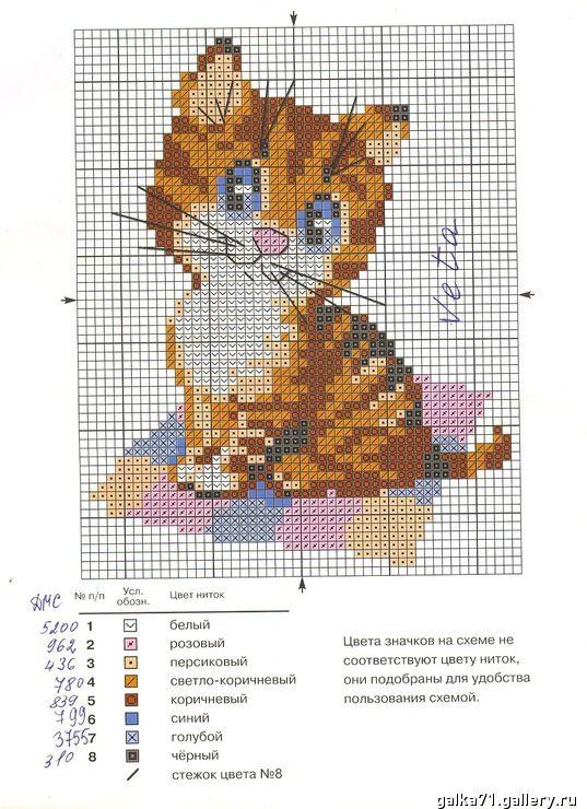 Рисунки цветные для вышивки крестом 29