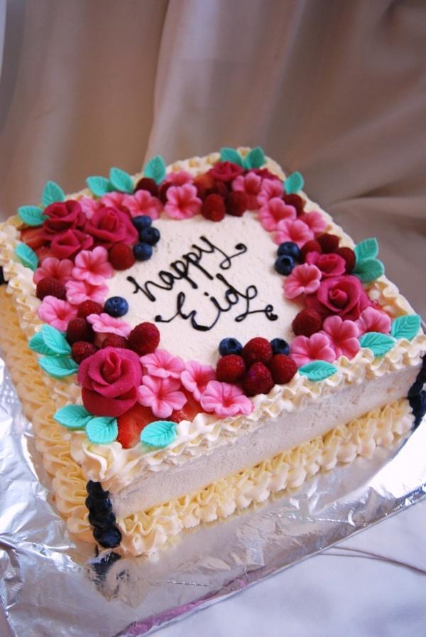 Cake Decoration Fresh Cream : Fresh cream Cupcake and Cake Decorating Ideas Pinterest