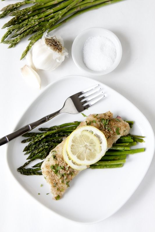 Herb Crusted Baked Cod-changed this up a bit because I didn't have ...