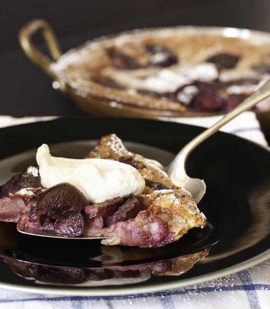Cherry Clafouti recipe | Clafoutis is a dessert originating in 19th ...