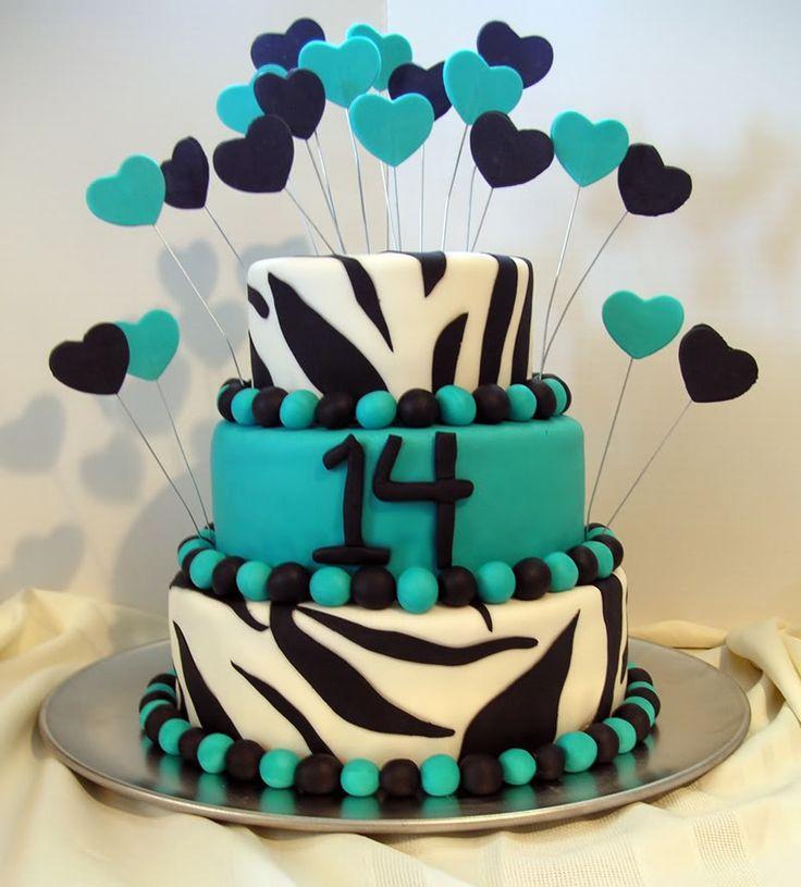14th birthday cake