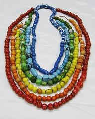 "necklace ""Rainbow Dreams""  from Vaflentina"