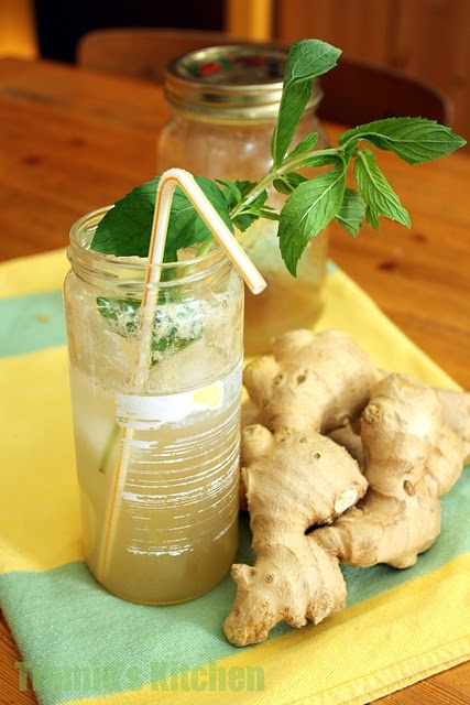 Home-made ginger ale (pinning for syrup recipe to use in Kefir to make ...