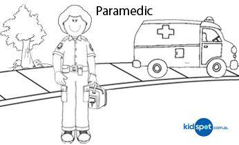 Paramedic - Printables - Colouring Pages | Paramedic ...