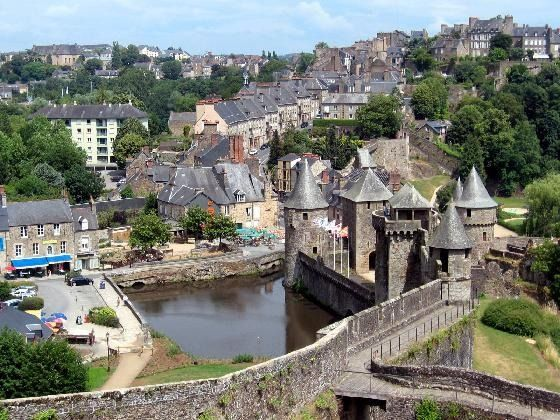 Fougeres France  city images : Fougères ~ France | Places Home & Away | Pinterest