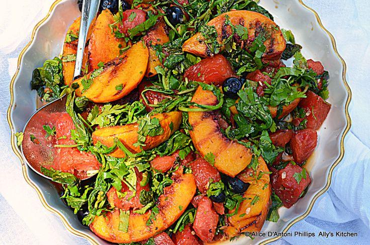 Grilled Fruit Salad | Grill | Pinterest