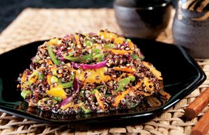 Black Quinoa Asian Slaw - had this today and it was fantastic
