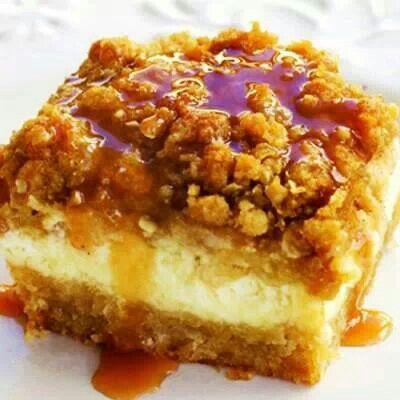 Apple cream cheese bars | Cookie Jar | Pinterest