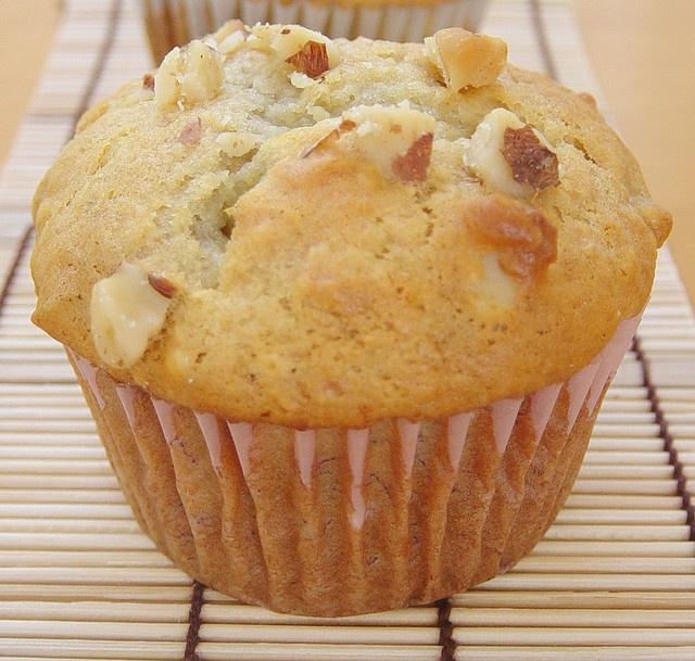 Eggless Banana Nut Muffins | Yum | Pinterest