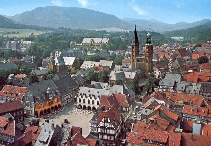 Goslar Germany  City pictures : Goslar, Germany. I totally reminds me of the town in