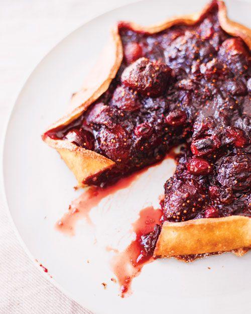 Cranberry-Fig Quinoa Tart | Delicious | Pinterest