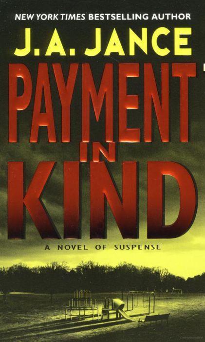 J.a. Jance Novels Jance - Payment...