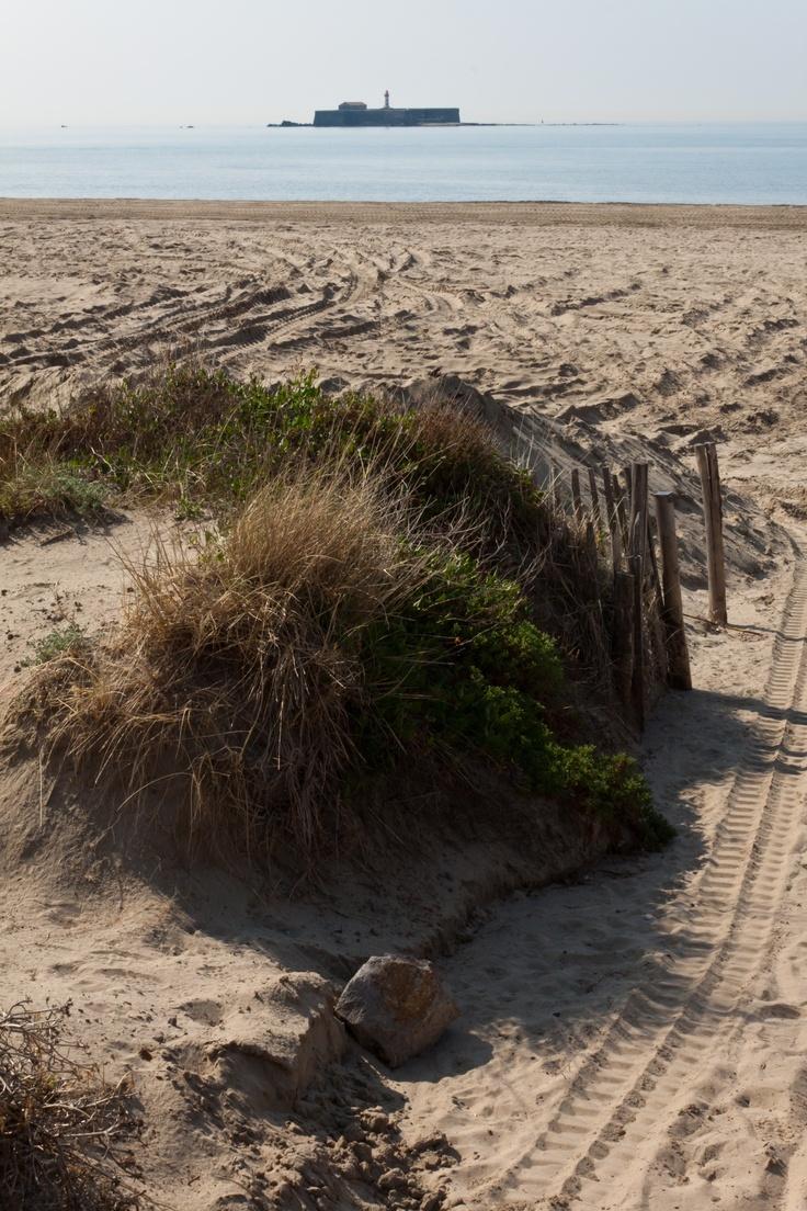 The beach at cap d 39 agde agde france pinterest for Cap d agde jardin d eden