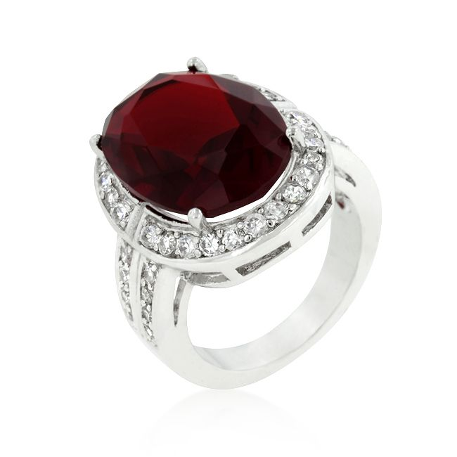 Ruby Cocktail Ring 78
