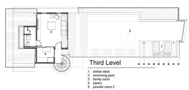 Bản thiết kế của tầng mái