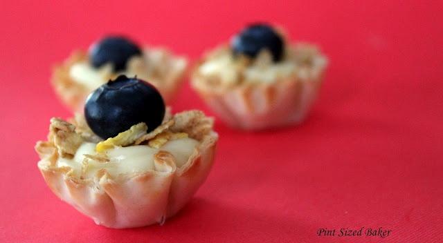 Scrumptious Mini Fruit Tarts filled with White Chocolate Ganache