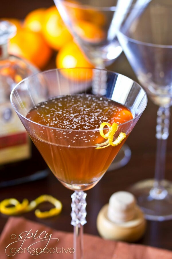 Spiced Manhattan Cocktail Recipe Infused Vermouth: 2 cups sweet ...