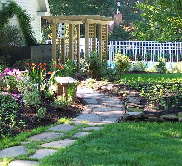 yard pathway dream home pinterest