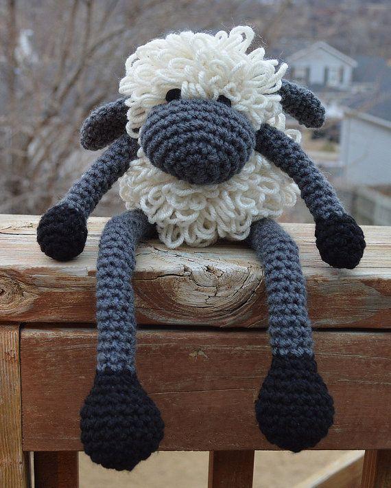 Sheep Amigurumi, Crochet Sheep