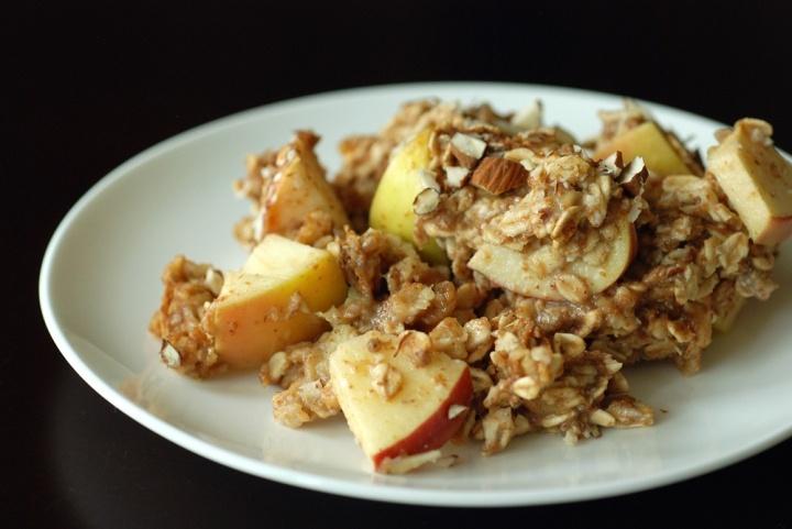 Baked Apple Banana Oatmeal - Vegan   Vegan Gastronomy   Pinterest