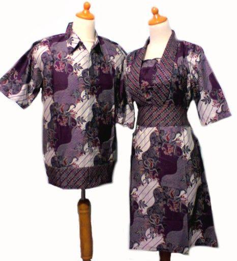 batik sarimbit BS275   Baju Batik Wanita Modern   Pinterest