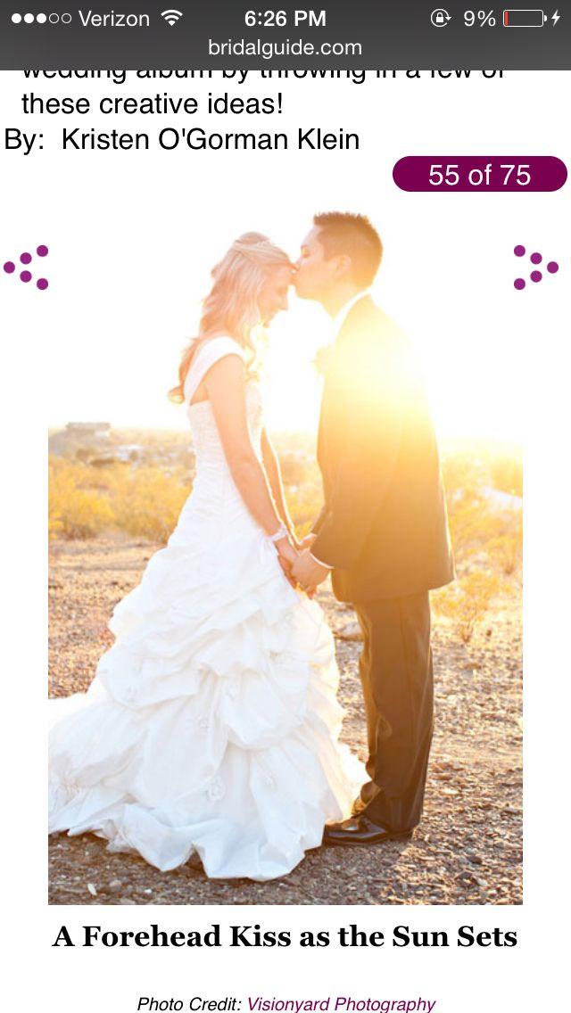 Sunset | Wedding Poses | Pinterest: pinterest.com/pin/33354853465258307